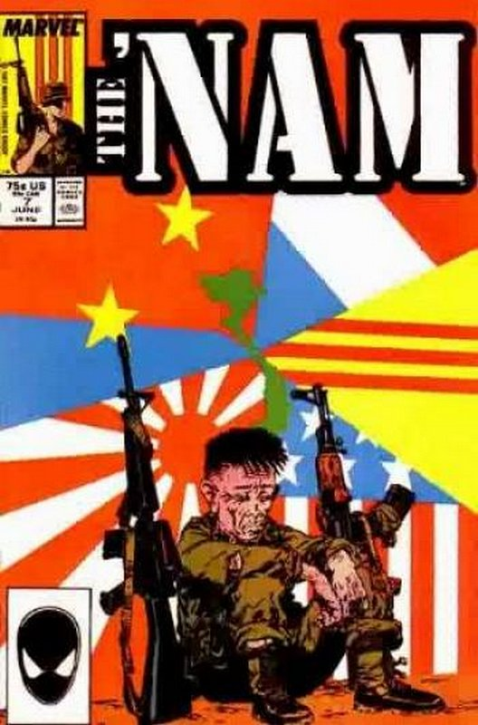 Cover of Nam (Vol 1)The #7. One of 250,000 Vintage American Comics on sale from Krypton!