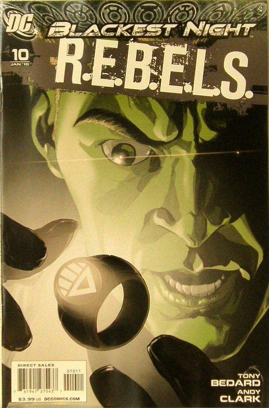 Cover of REBELS (Vol 1) #10. One of 250,000 Vintage American Comics on sale from Krypton!