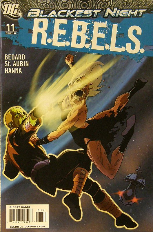Cover of REBELS (Vol 1) #11. One of 250,000 Vintage American Comics on sale from Krypton!