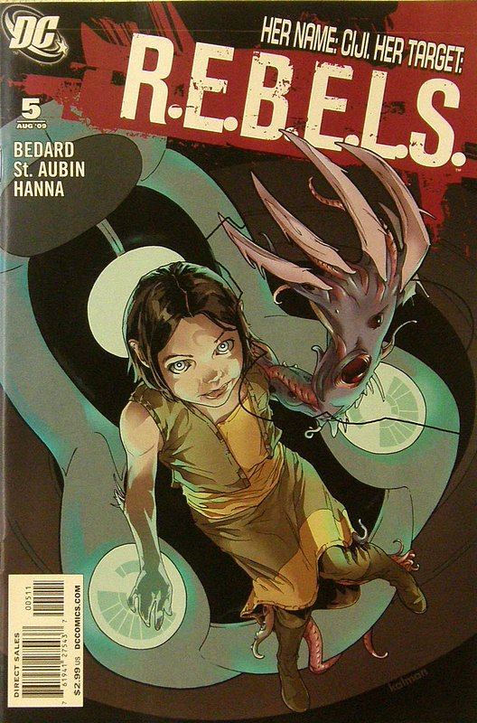 Cover of REBELS (Vol 1) #5. One of 250,000 Vintage American Comics on sale from Krypton!