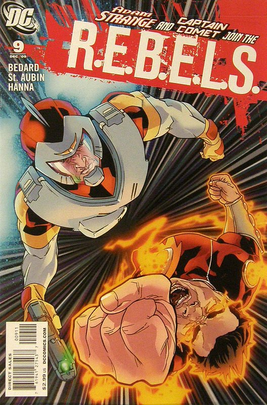 Cover of REBELS (Vol 1) #9. One of 250,000 Vintage American Comics on sale from Krypton!