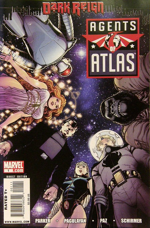 Cover of Agents of Atlas (Vol 1) #1. One of 250,000 Vintage American Comics on sale from Krypton!