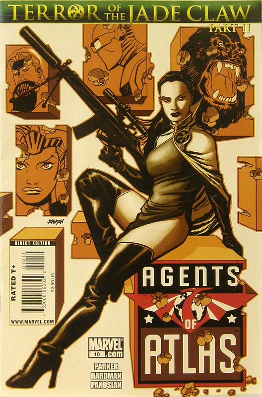 Cover of Agents of Atlas (Vol 1) #10. One of 250,000 Vintage American Comics on sale from Krypton!