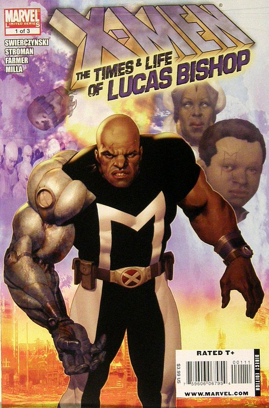 Cover of X-Men: Lives & times of Lucas Bishop (2009 Ltd) #1. One of 250,000 Vintage American Comics on sale from Krypton!