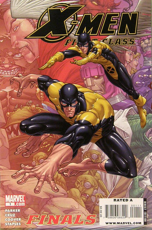 Cover of X-Men: First Class - Finals (2009 Ltd) #1. One of 250,000 Vintage American Comics on sale from Krypton!