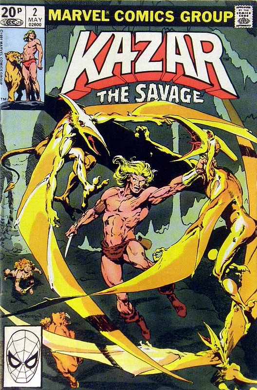 Cover of Ka-Zar (Vol 3), The Savage #2. One of 250,000 Vintage American Comics on sale from Krypton!