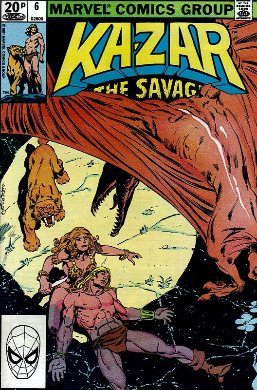 Cover of Ka-Zar (Vol 3), The Savage #6. One of 250,000 Vintage American Comics on sale from Krypton!
