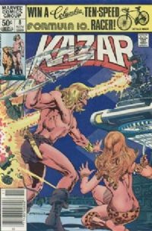 Cover of Ka-Zar (Vol 3), The Savage #8. One of 250,000 Vintage American Comics on sale from Krypton!