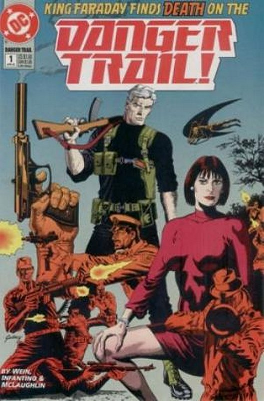Cover of Danger Trail! (1993 Ltd) #1. One of 250,000 Vintage American Comics on sale from Krypton!