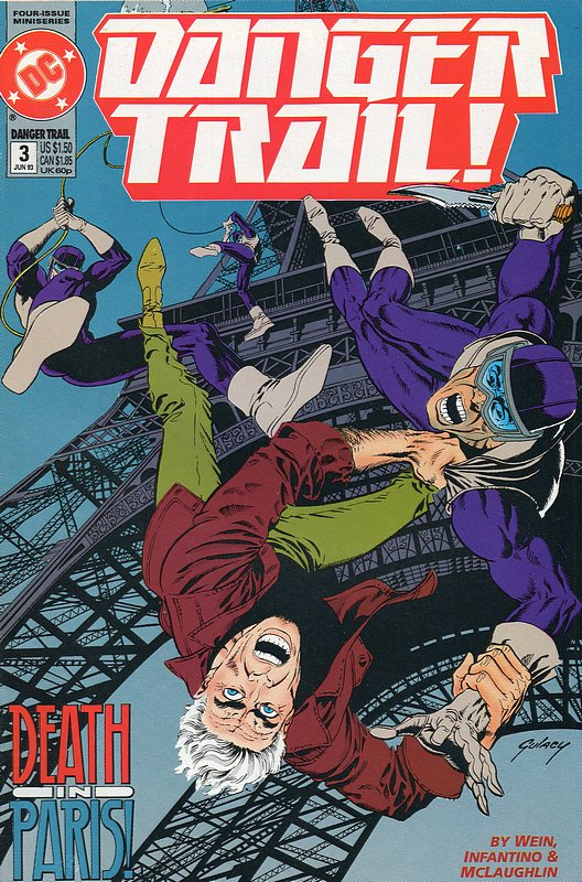Cover of Danger Trail! (1993 Ltd) #3. One of 250,000 Vintage American Comics on sale from Krypton!
