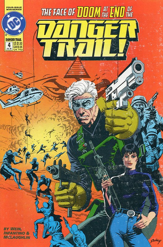 Cover of Danger Trail! (1993 Ltd) #4. One of 250,000 Vintage American Comics on sale from Krypton!