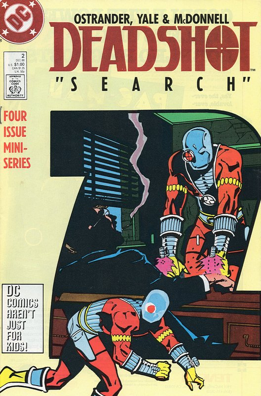 Cover of Deadshot (1988 Ltd) #2. One of 250,000 Vintage American Comics on sale from Krypton!