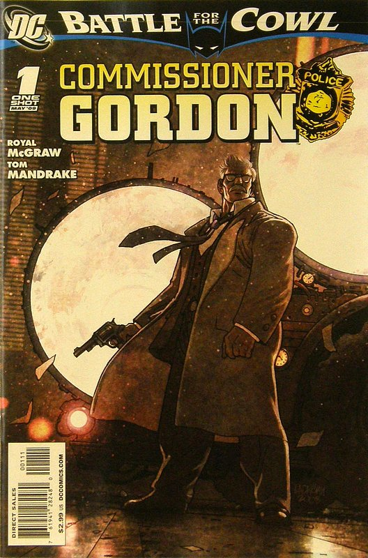 Cover of Batman: Battle for the Cowl - Commissioner Gordon #1. One of 250,000 Vintage American Comics on sale from Krypton!