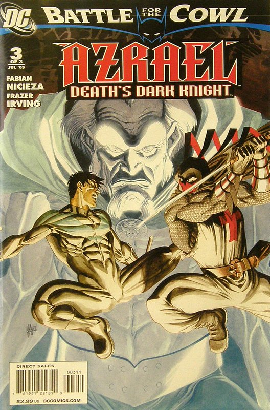 Cover of Azrael: Deaths Dark Knight (2009 Ltd) #3. One of 250,000 Vintage American Comics on sale from Krypton!