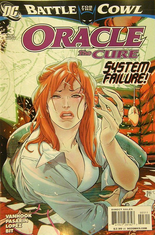 Cover of Oracle (2009 Ltd) #3. One of 250,000 Vintage American Comics on sale from Krypton!