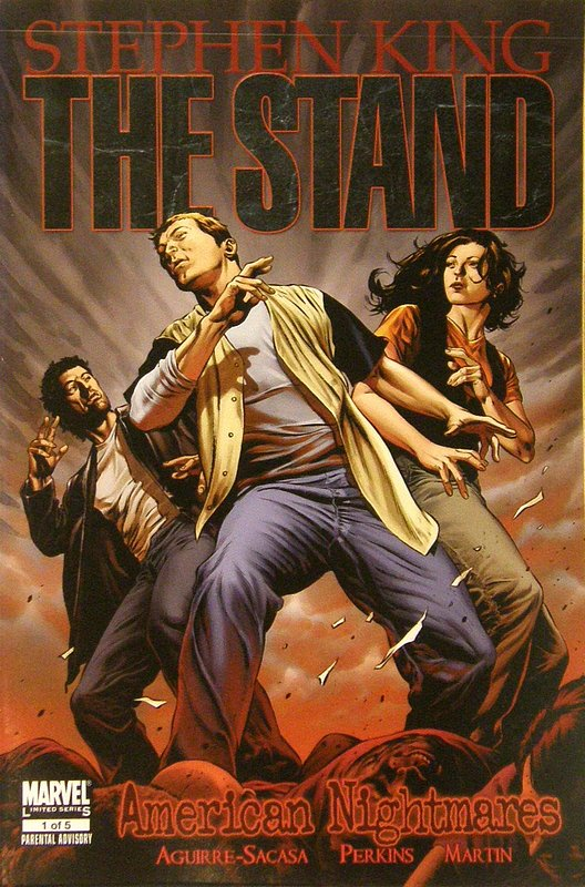 Cover of Stand: American Nightmares (2009 Ltd) #1. One of 250,000 Vintage American Comics on sale from Krypton!