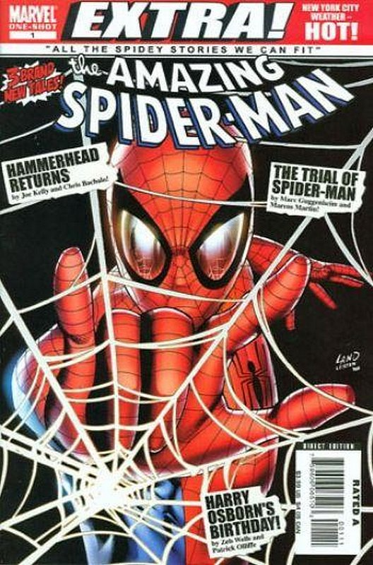 Cover of Amazing Spider-Man Extra (Vol 1) #1. One of 250,000 Vintage American Comics on sale from Krypton!