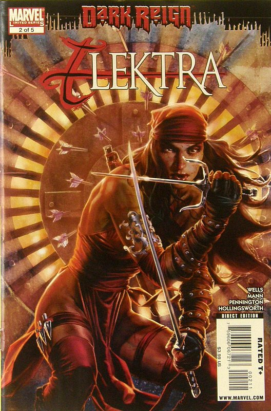 Cover of Dark Reign: Elektra (2009 Ltd) #2. One of 250,000 Vintage American Comics on sale from Krypton!