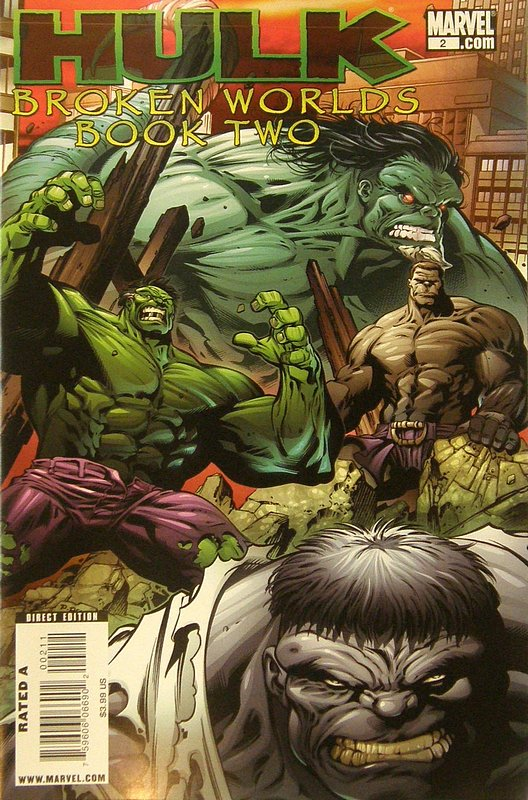 Cover of Hulk Broken Worlds (2009 Ltd) #2. One of 250,000 Vintage American Comics on sale from Krypton!