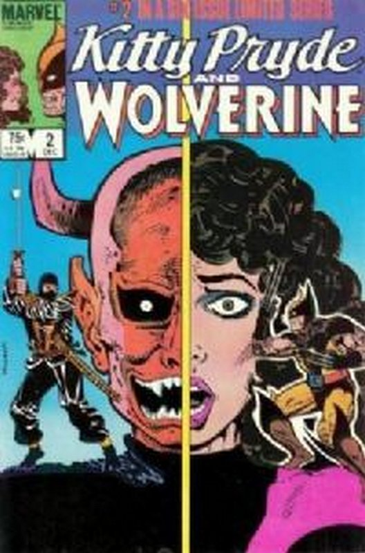 Cover of Kitty Pryde & Wolverine (1984 Ltd) #2. One of 250,000 Vintage American Comics on sale from Krypton!