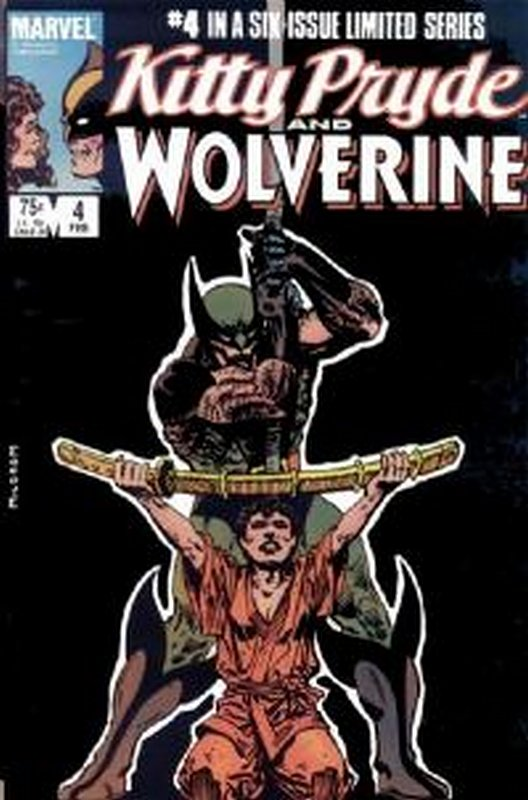 Cover of Kitty Pryde & Wolverine (1984 Ltd) #4. One of 250,000 Vintage American Comics on sale from Krypton!