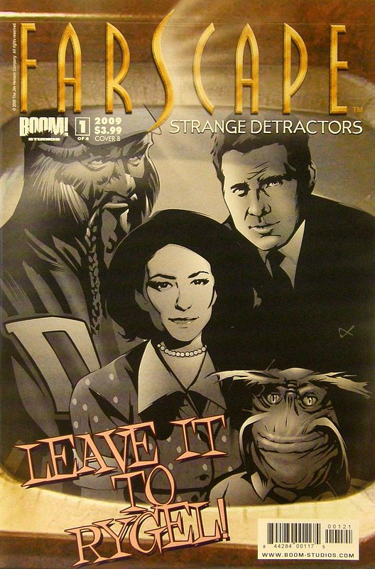 Cover of Farscape: Strange Detractors #1. One of 250,000 Vintage American Comics on sale from Krypton!
