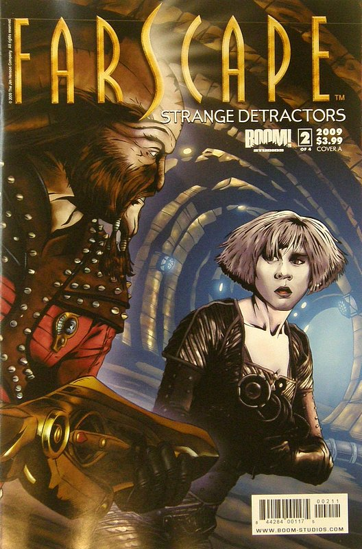 Cover of Farscape: Strange Detractors #2. One of 250,000 Vintage American Comics on sale from Krypton!