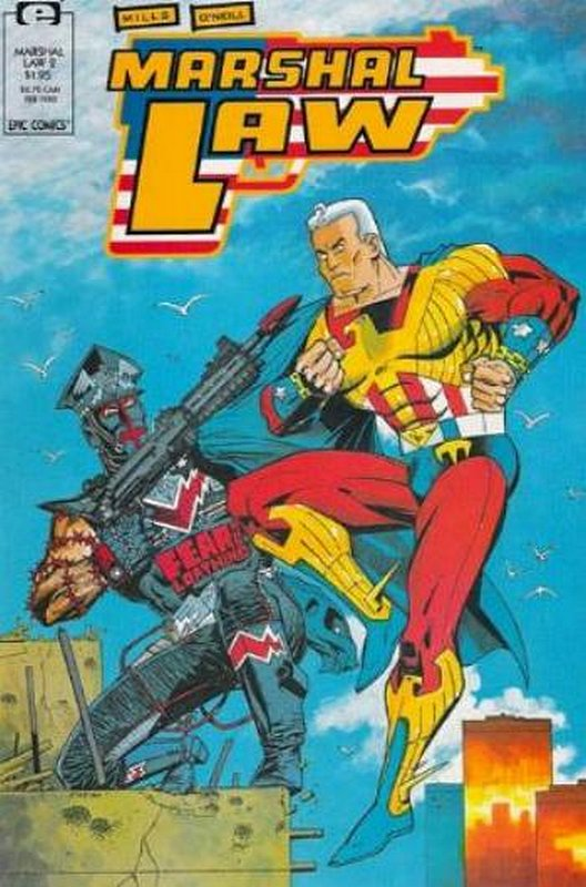Cover of Marshal Law (Vol 1) #2. One of 250,000 Vintage American Comics on sale from Krypton!