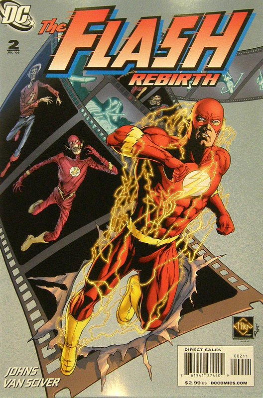 Cover of Flash: Rebirth (2009 Ltd) #2. One of 250,000 Vintage American Comics on sale from Krypton!