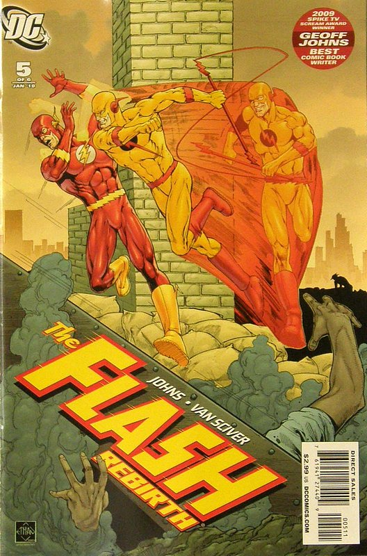 Cover of Flash: Rebirth (2009 Ltd) #5. One of 250,000 Vintage American Comics on sale from Krypton!