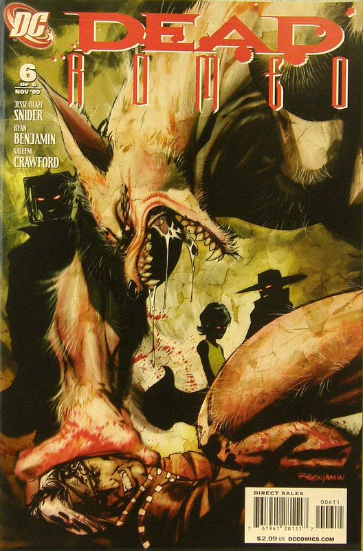 Cover of Dead Romeo (2009 Ltd) #6. One of 250,000 Vintage American Comics on sale from Krypton!