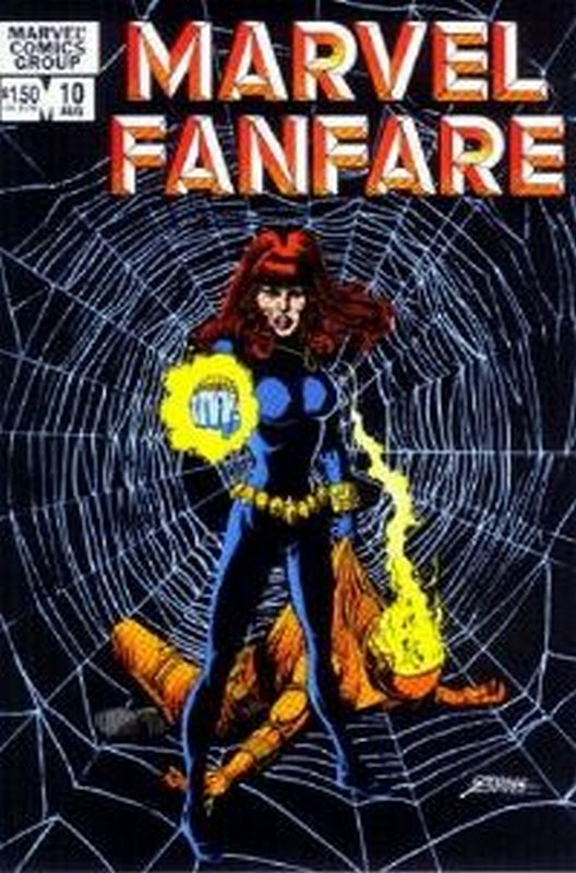 Cover of Marvel Fanfare (Vol 1) #10. One of 250,000 Vintage American Comics on sale from Krypton!