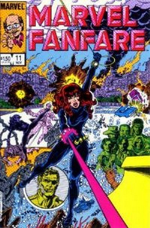 Cover of Marvel Fanfare (Vol 1) #11. One of 250,000 Vintage American Comics on sale from Krypton!