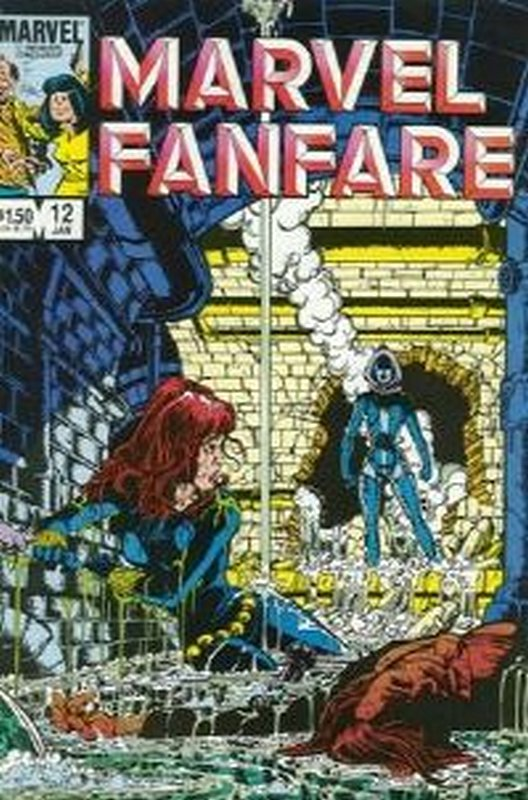 Cover of Marvel Fanfare (Vol 1) #12. One of 250,000 Vintage American Comics on sale from Krypton!