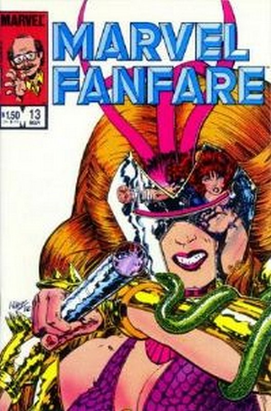 Cover of Marvel Fanfare (Vol 1) #13. One of 250,000 Vintage American Comics on sale from Krypton!