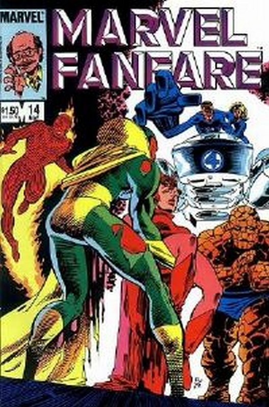 Cover of Marvel Fanfare (Vol 1) #14. One of 250,000 Vintage American Comics on sale from Krypton!