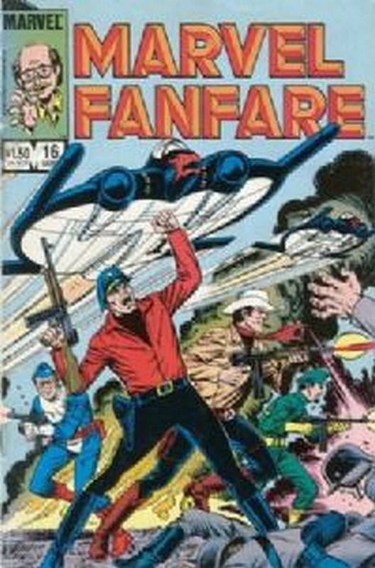 Cover of Marvel Fanfare (Vol 1) #16. One of 250,000 Vintage American Comics on sale from Krypton!