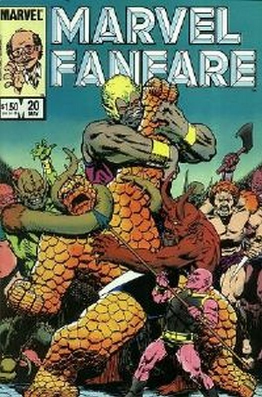 Cover of Marvel Fanfare (Vol 1) #20. One of 250,000 Vintage American Comics on sale from Krypton!