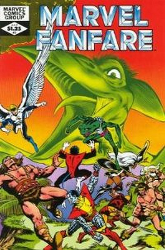 Cover of Marvel Fanfare (Vol 1) #3. One of 250,000 Vintage American Comics on sale from Krypton!