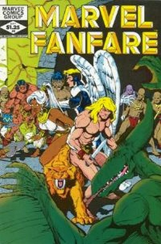 Cover of Marvel Fanfare (Vol 1) #4. One of 250,000 Vintage American Comics on sale from Krypton!