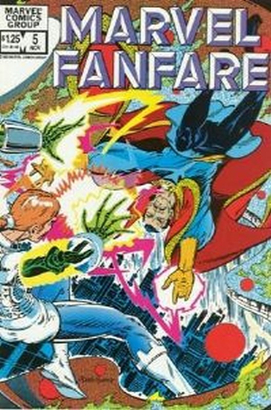 Cover of Marvel Fanfare (Vol 1) #5. One of 250,000 Vintage American Comics on sale from Krypton!