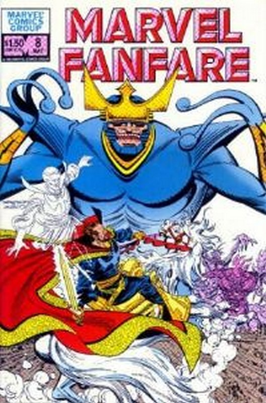 Cover of Marvel Fanfare (Vol 1) #8. One of 250,000 Vintage American Comics on sale from Krypton!