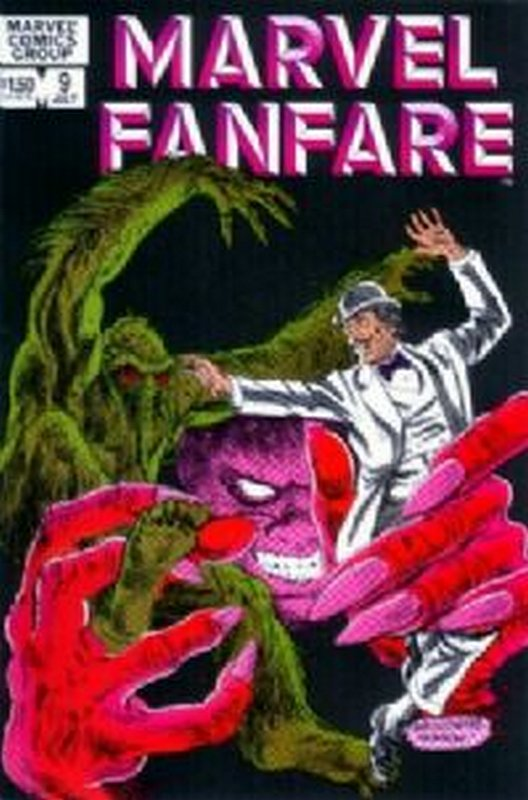 Cover of Marvel Fanfare (Vol 1) #9. One of 250,000 Vintage American Comics on sale from Krypton!