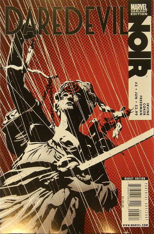 Cover of Daredevil: Noir (2009 Ltd) #3. One of 250,000 Vintage American Comics on sale from Krypton!