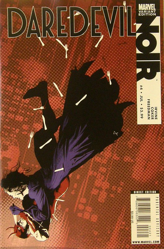Cover of Daredevil: Noir (2009 Ltd) #4. One of 250,000 Vintage American Comics on sale from Krypton!