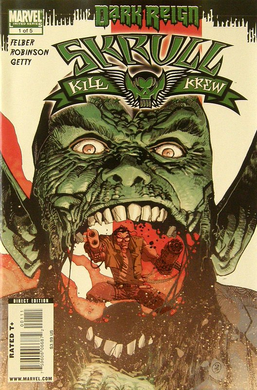 Cover of Skrull Kill Krew (2009 Ltd) #1. One of 250,000 Vintage American Comics on sale from Krypton!