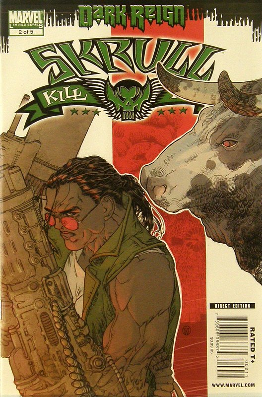 Cover of Skrull Kill Krew (2009 Ltd) #2. One of 250,000 Vintage American Comics on sale from Krypton!