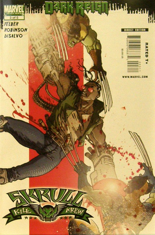 Cover of Skrull Kill Krew (2009 Ltd) #3. One of 250,000 Vintage American Comics on sale from Krypton!