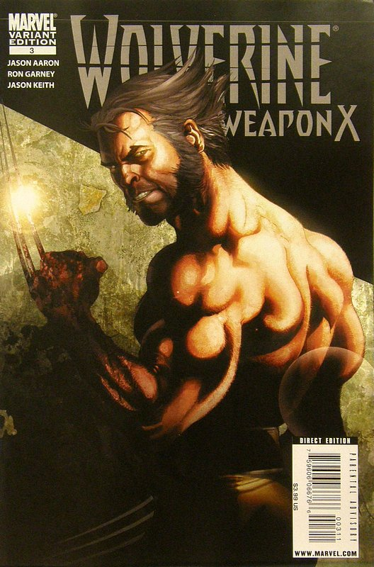 Cover of Wolverine: Weapon X (Vol 1) #3. One of 250,000 Vintage American Comics on sale from Krypton!