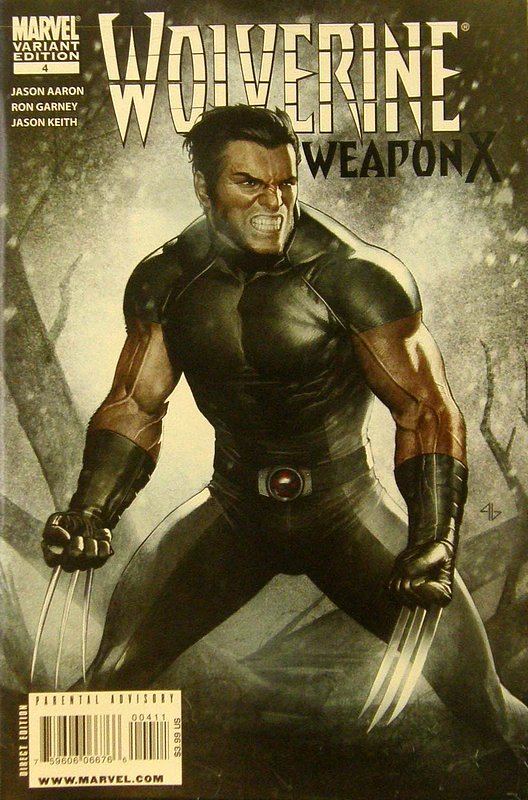 Cover of Wolverine: Weapon X (Vol 1) #4. One of 250,000 Vintage American Comics on sale from Krypton!